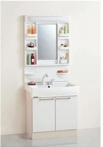 1面鏡、シャワー付きシングルレバー混合栓・・・
