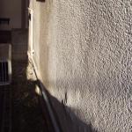 今回の外壁塗装の原因になった壁の剥離(塗膜下の水が浸入しモルタル壁が剥がれ落ちている)C