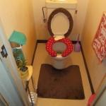 旧トイレです。