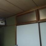 旧和室から4.5帖和室の間仕切り壁です。