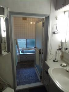 S邸浴室・脱衣場改装前。浴室の奥行1800から1600にへんこうします。 - コピー