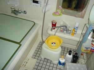浴室工事前2