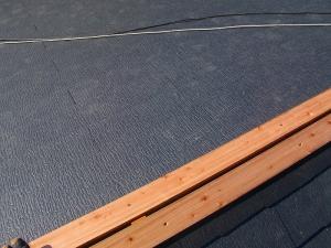 屋根材貼り2