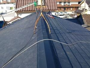 屋根材貼り3