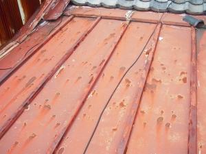屋根工事前D