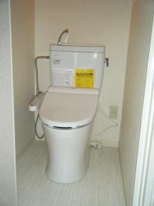 1階トイレ工事後