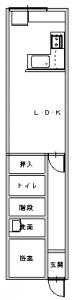 生野区・田中後-平面図(1階)