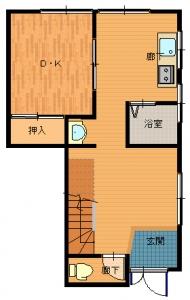 松原・大西工事前2・16-平面図(1階)