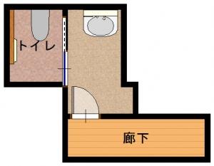 旭区・ユ・工事後-平面図(1階)