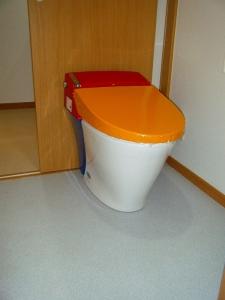 1階トイレ「、リクシル製