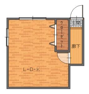 豊中・小松工事前-平面図(1階)