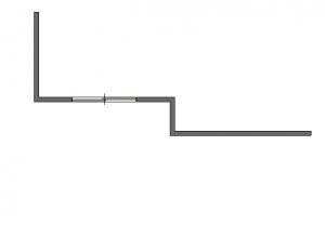 桑原邸増築工事前-平面図(1階)