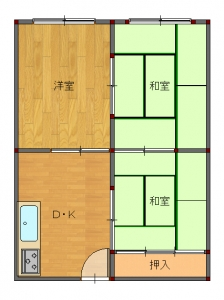 吹田・片岡様工事後前-平面図( 1  階)