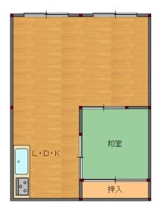 吹田・片岡様工事後-平面図( 1  階)