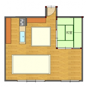 角工事前-平面図( 1  階)