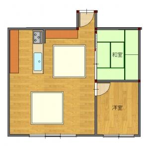 角-平面図( 1  階)