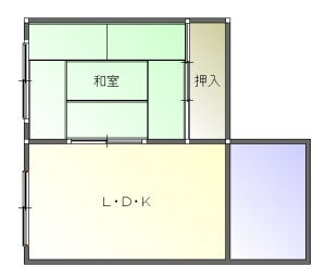ナラン前-平面図( 1  階)