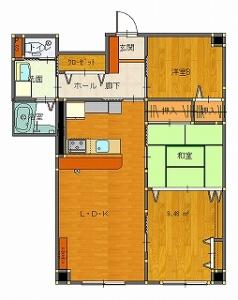 椚田邸工事後Cプラン11・25-平面図( 1  階)