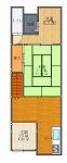 下中様前-平面図( 1  階)